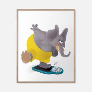 L'éléphant s'en balance