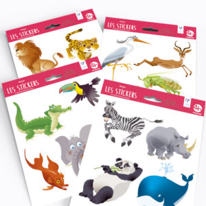 Stickers – Collection Animaux Rigolos